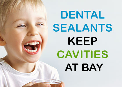 Dental sealants are a protective coating over the grooves in the molars