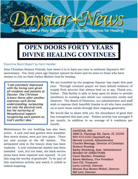 Daystar News May 2013