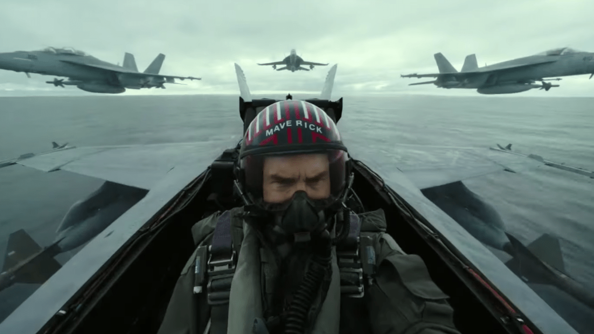 Feeling the need with the Top Gun: Maverick Trailer