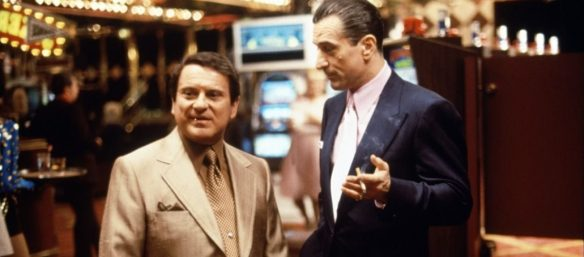 Robert DeNiro and Joe Pesci in Casino