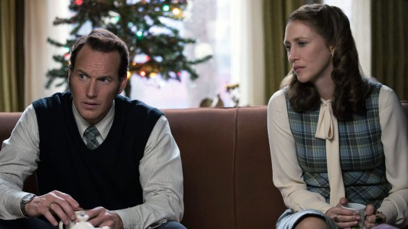 Vera Farmiga and Patrick Wilson return in The Conjuring: The Devil Made Me Do It