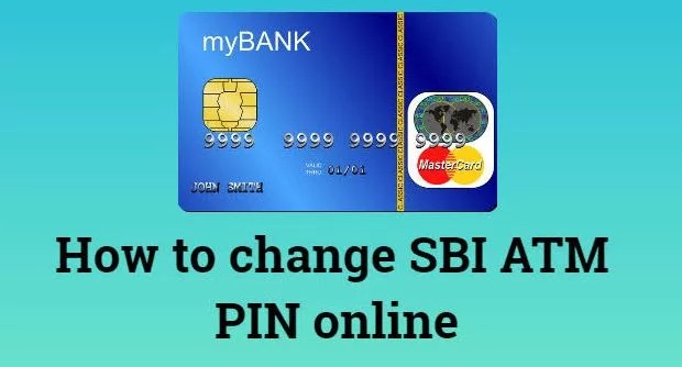 Change Sbi Atm Card Pin Through Online