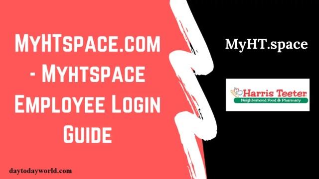 MyHTSpace Login Portal | Employee Login Guide 2020