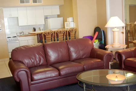 Hawaiian Inn Resort - Living Room Sofa