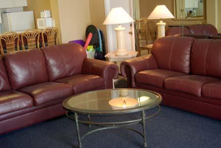 Hawaiian Inn - 2 Sofas - Both Leather