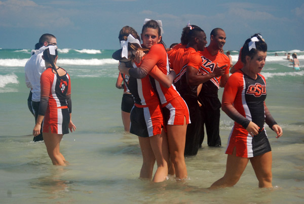 NCAA Cheerleading Competition - Daytona Beach Hugs