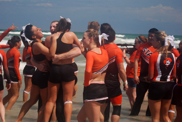 Daytona Beach NCAA Cheerleading Competition
