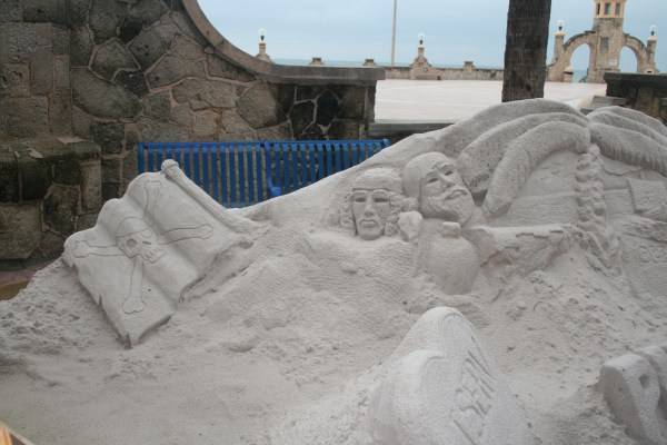 Pirates Sand Castle