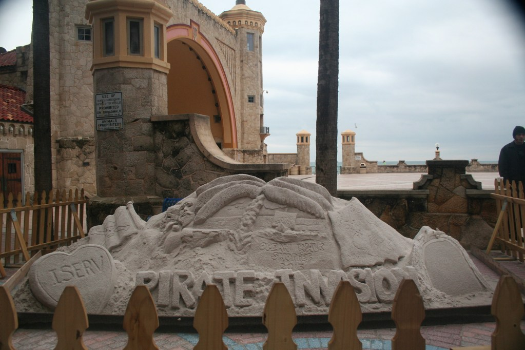 Daytona Beach Ocean Walk Shoppes Sand Castle