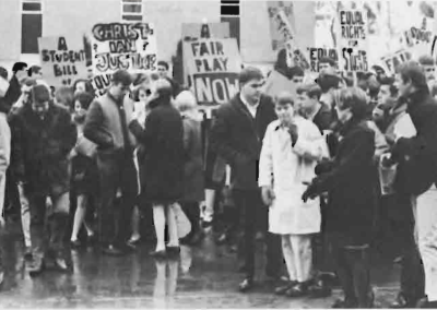 UD Campus Protests