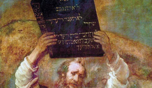 Image result for moses smashing the tablets of the law rembrandt