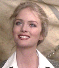 "Donna Dixon played the part of Maureen Dean iin Oliver Stone's film, ""Nixon."""