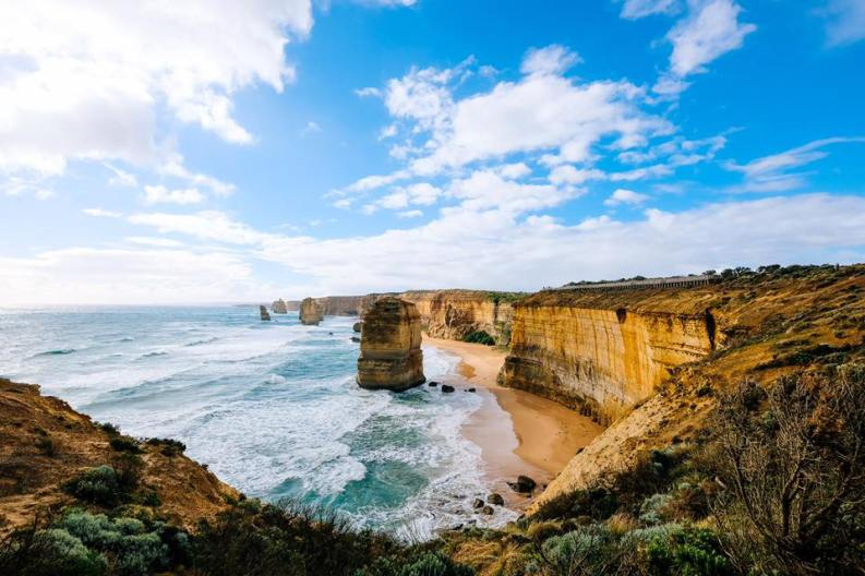 Amazing view of 12 Apostles