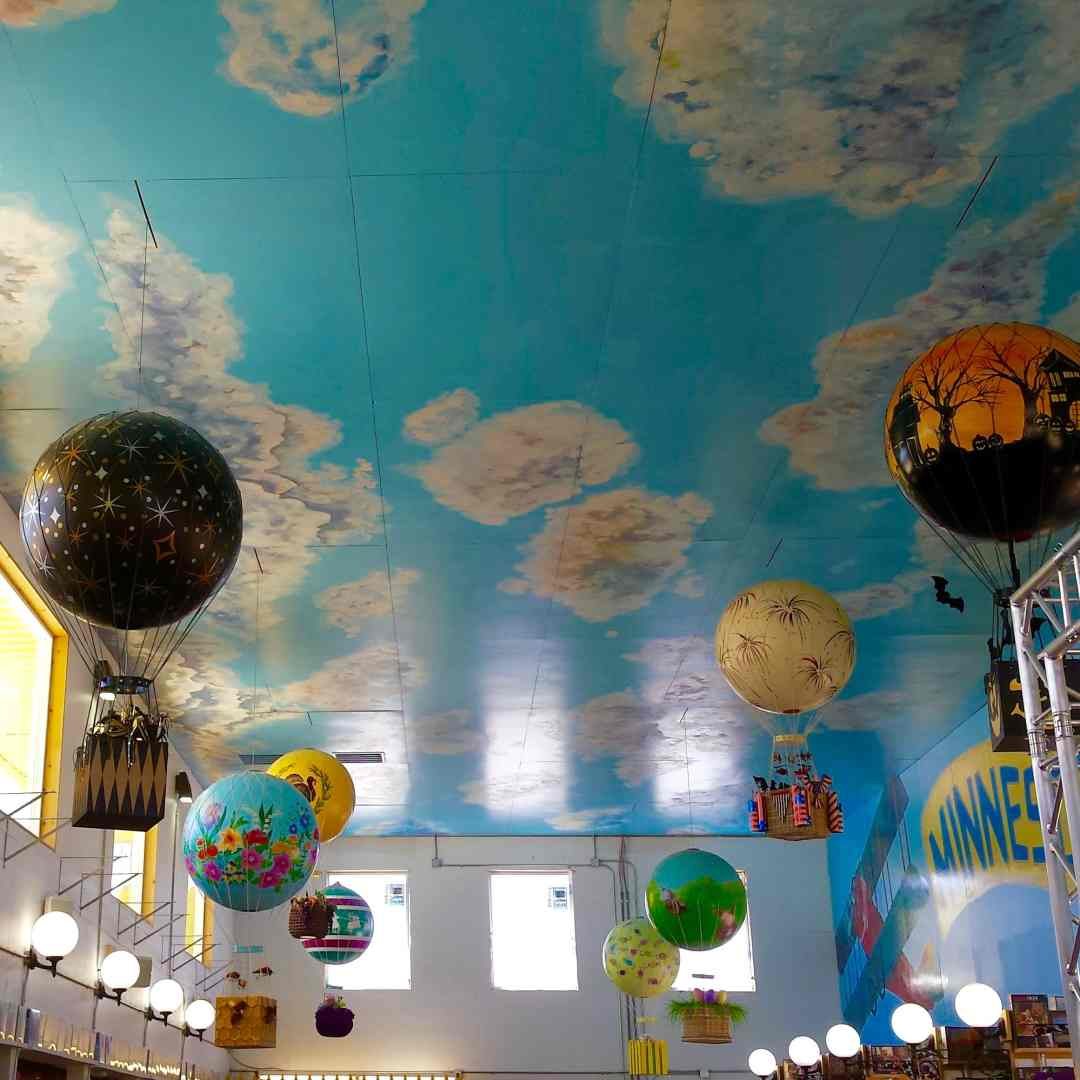 Sky at Minnesota's Largest Candy Store