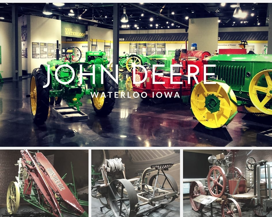 John Deere Tractor Museum in Waterloo Iowa