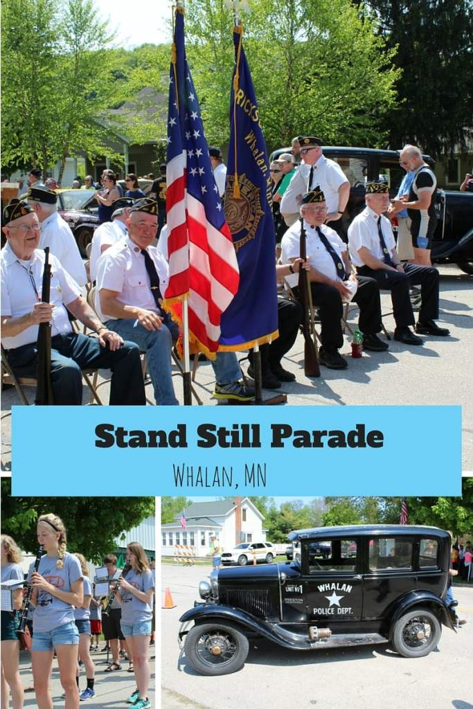 What do you do when you want to throw a parade but the town is to small. Have everyone Stand Still. Check out this unique parade on the Root River Trail in Whalan MN