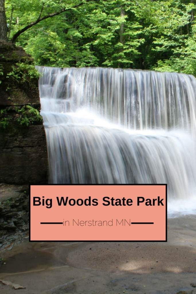 Nerstrand Big Woods State Park, HIden Falls