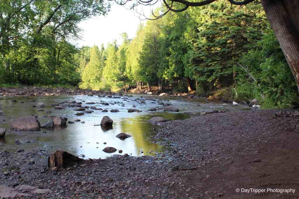 Runoff stream from Gooseberry Falls