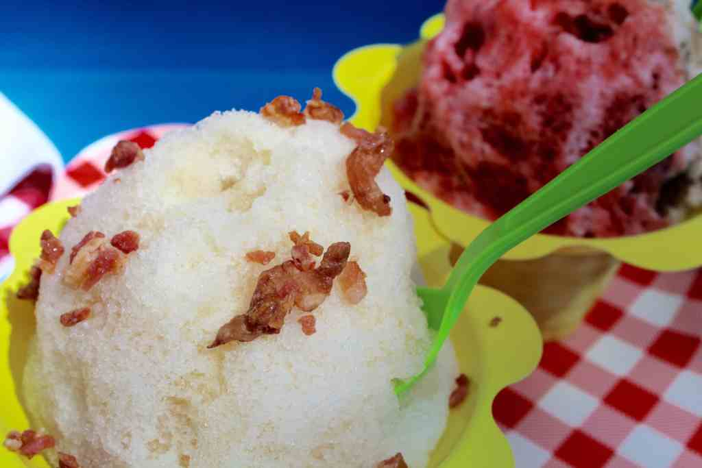Maple Bacon Shaved Ice form Minnesnowii Shaved Ice