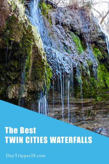 Minnesota has some of the best Waterfalls in the Country. But did you know there are 6 located in the Twin Cities? How many have you visited? #DayTrip | Waterfall | Minneapolis | Saint Paul | Family Adventure
