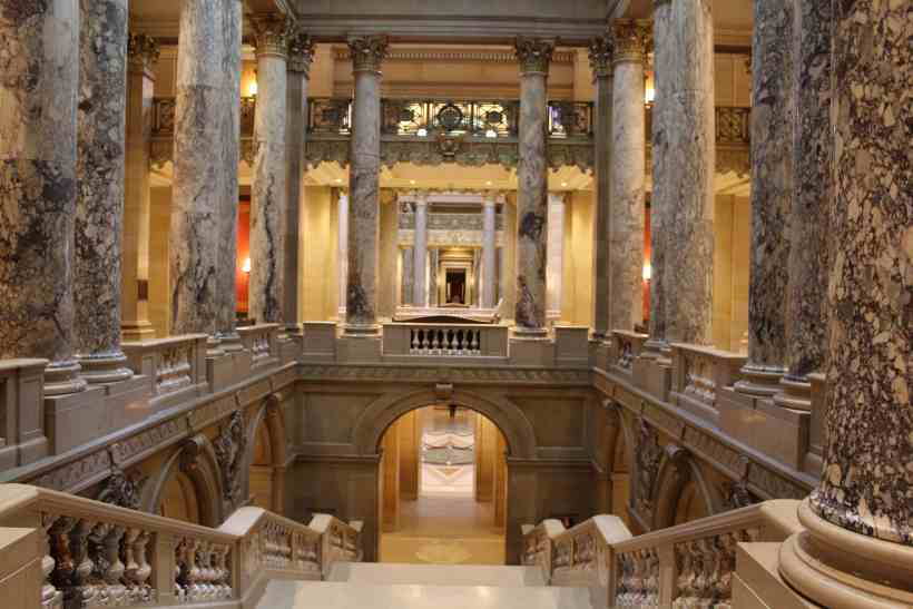 Inside the MN State Capitol