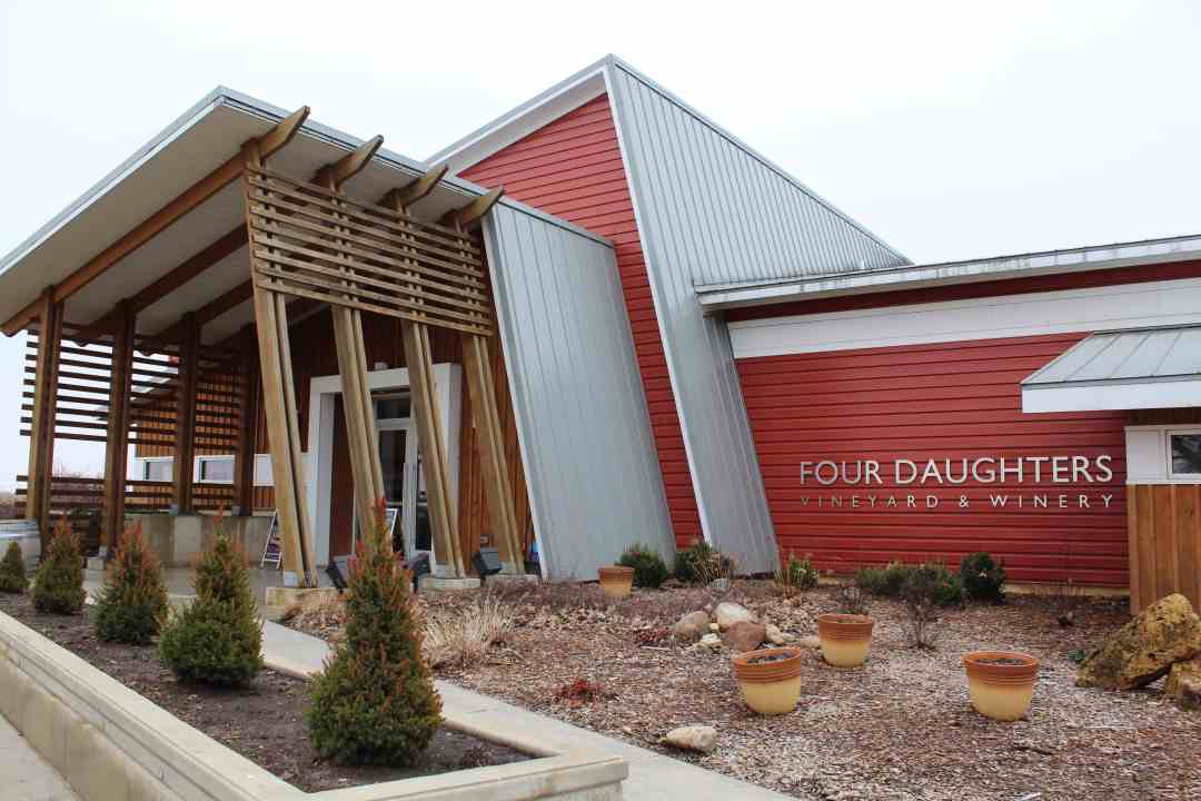 Four Daughters Vineyard & Winery Barn