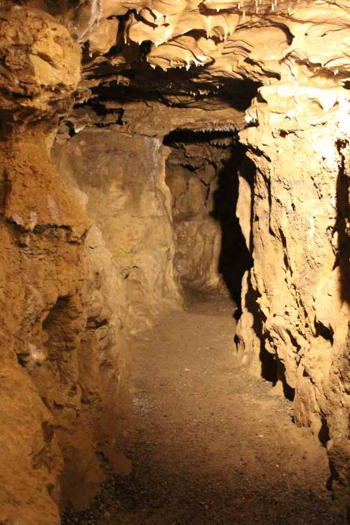 Tunnels at Crystal Cave WI