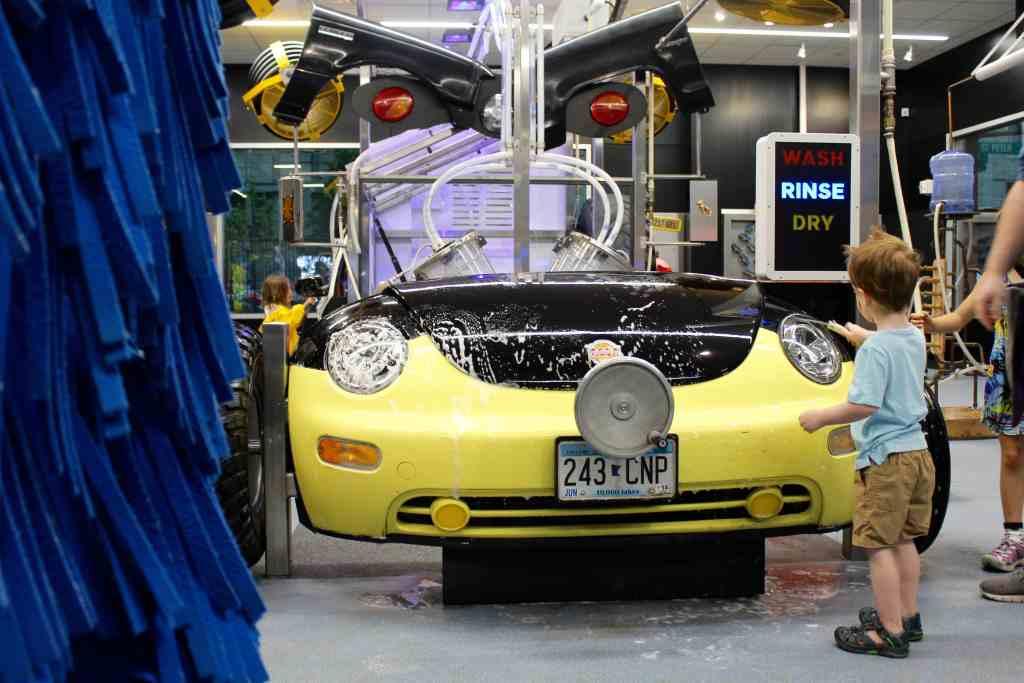 Minnesota Children's Museum Car Wash