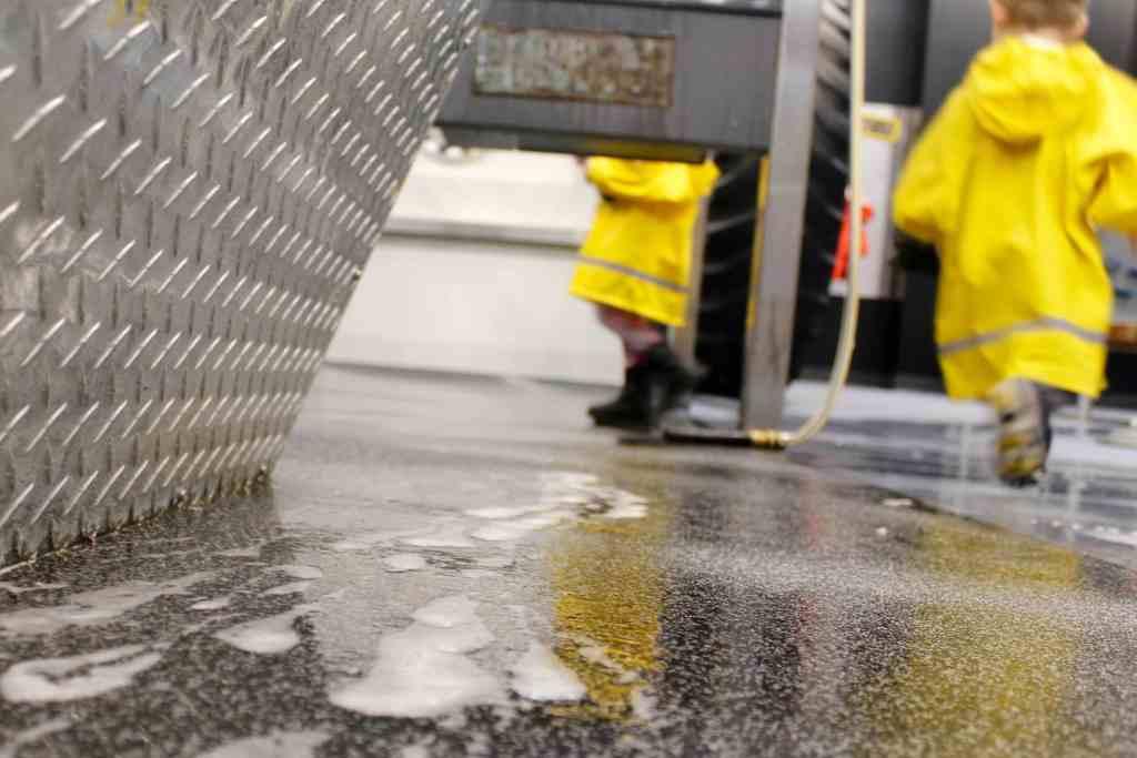 Minnesota Children's Museum Car Wash Floor