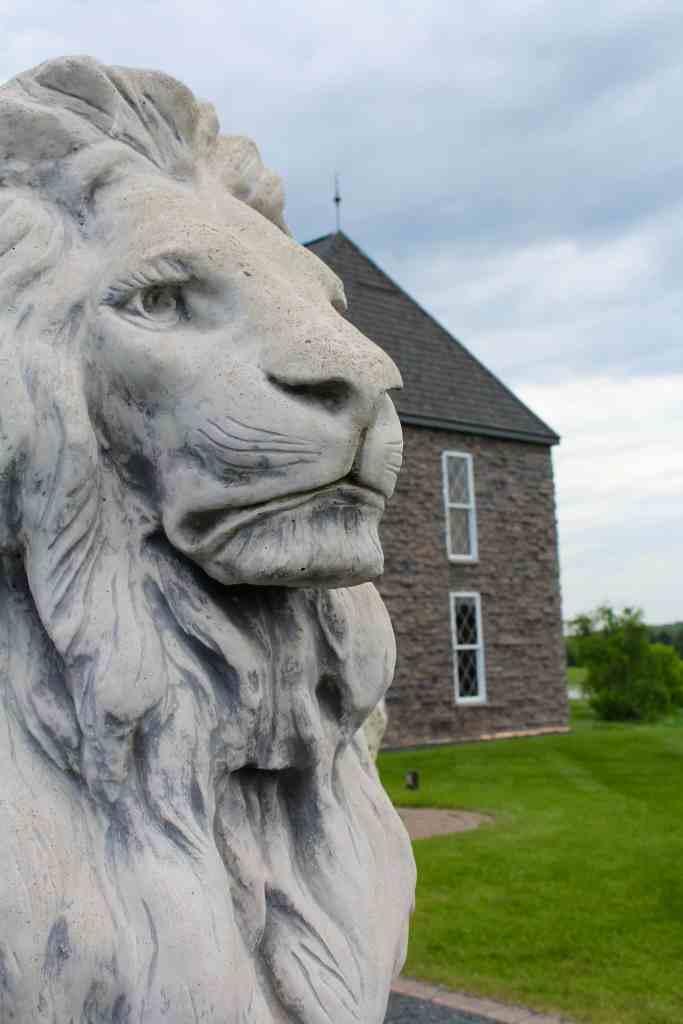 Chateau St. Croix Lions Head Enterence