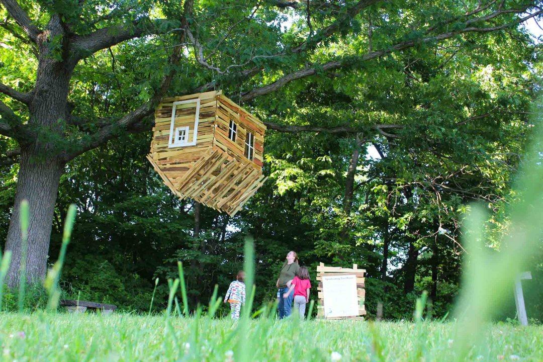 Upside Down Tree House