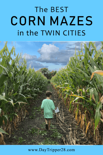 Here are the most amazing corn mazes to get lost in the Twin Cities your kids will love! Family Friendly | Minnesota | Fall | Adventure #DayTripper