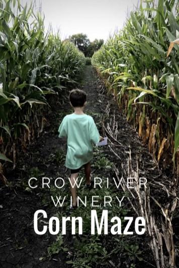 Fall Fun has come to the Crow River Winery Corn maze in Hutchinson.