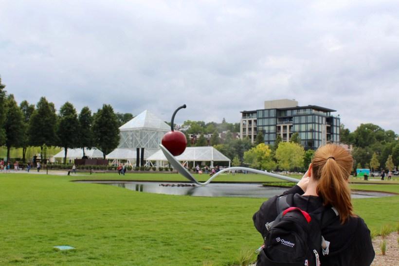 The Spoon Bridge and Cherry at the Minneapolis Sculpture Garden