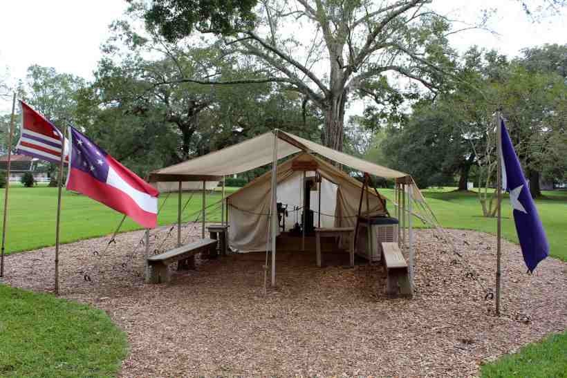 Civil War Camp