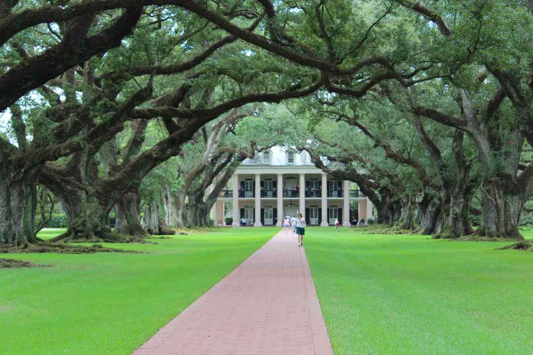 Oak Alley Plantation outside of New Orleans