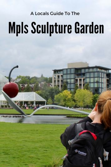 The Mpls sculpture Garden in Minneapolis MN is a photographers dream.