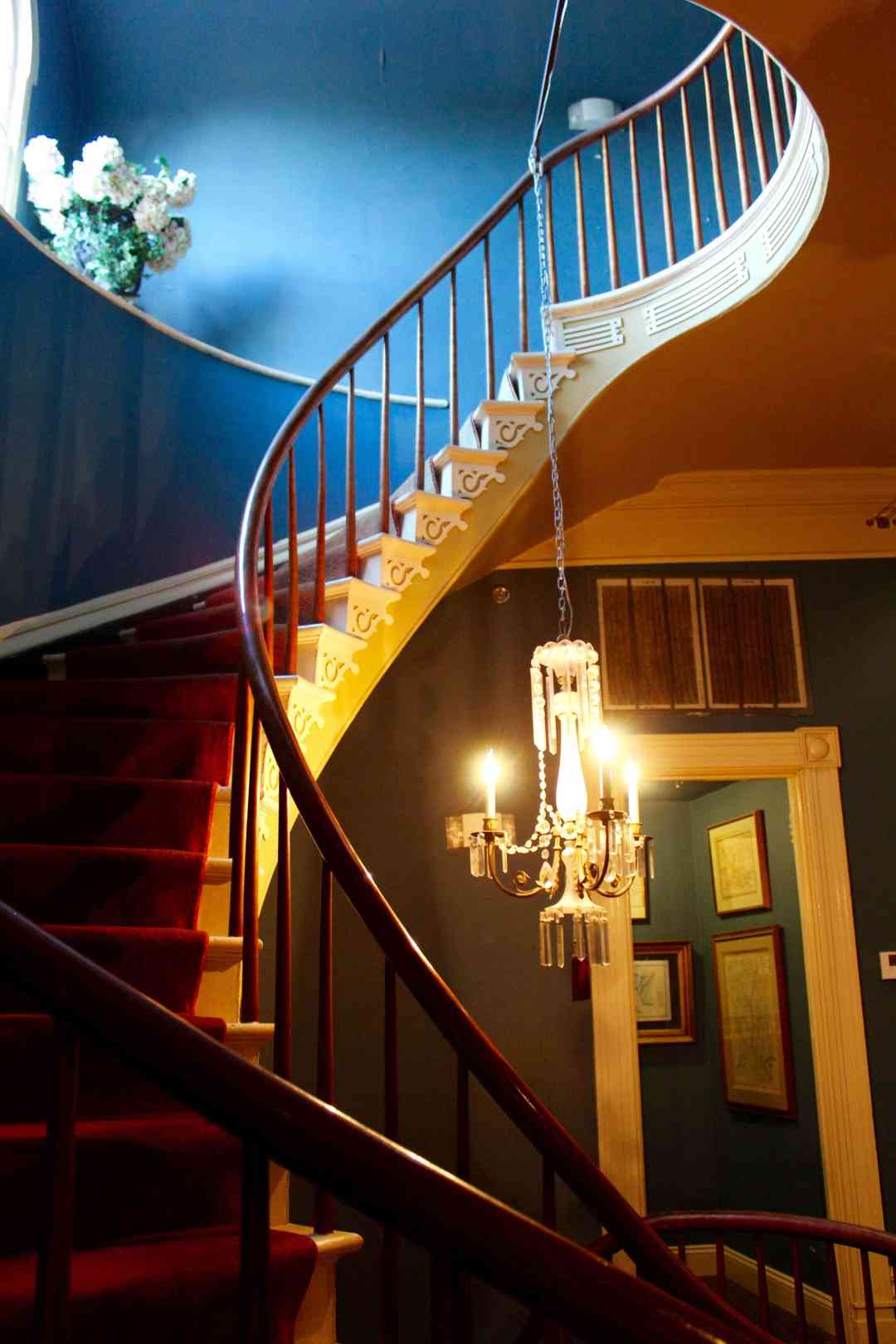 Houmas House Plantation Haunted Grand Staircase