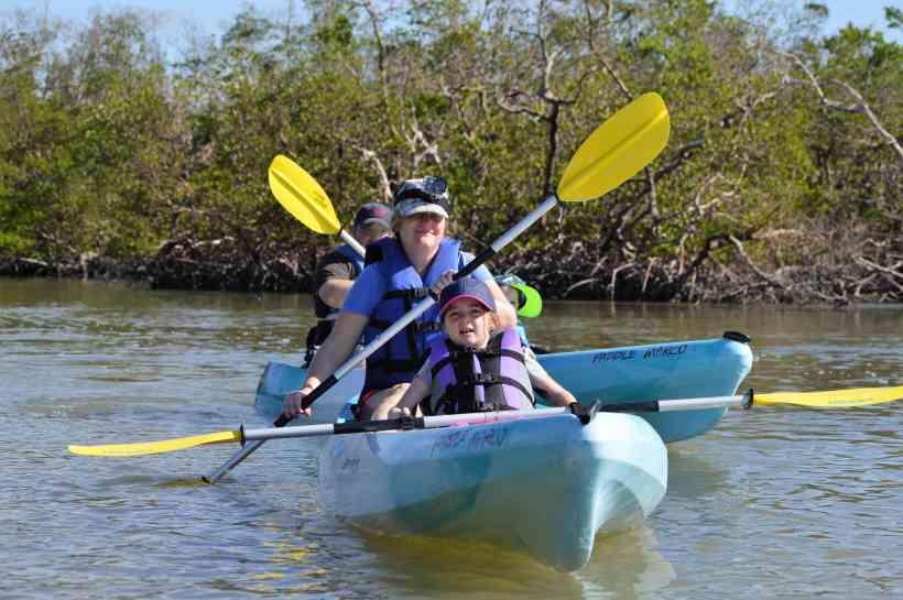 Kayaking with Kids