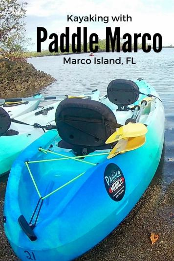 Kayaking around Marco Island