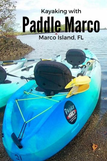 Kayaking around Marco Island