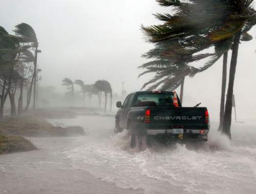 Hurricane Winds, Traveling During a Hurricane