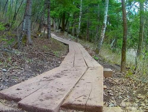 Superior Hiking Trail Board Walk