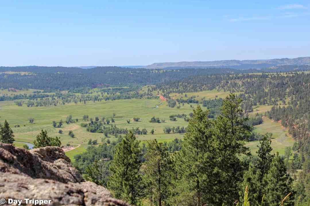 Scenic Overlook of Devils Tower