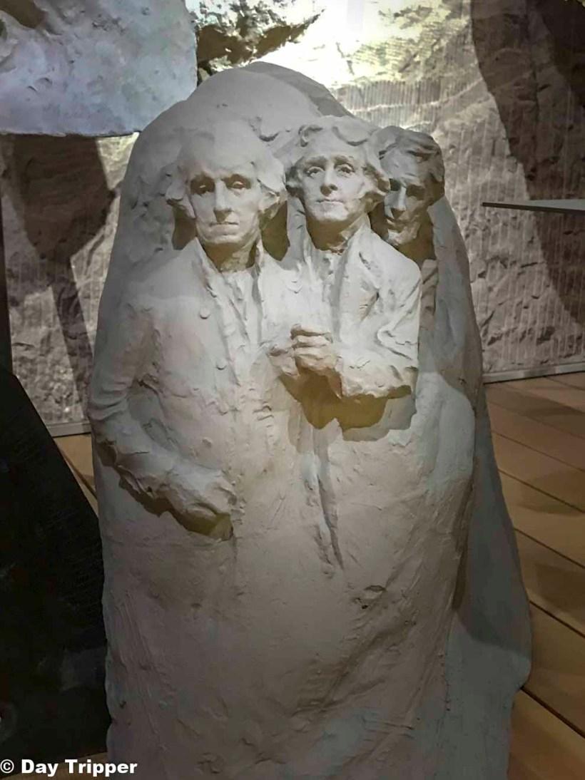 Original Plan for Mount Rushmore