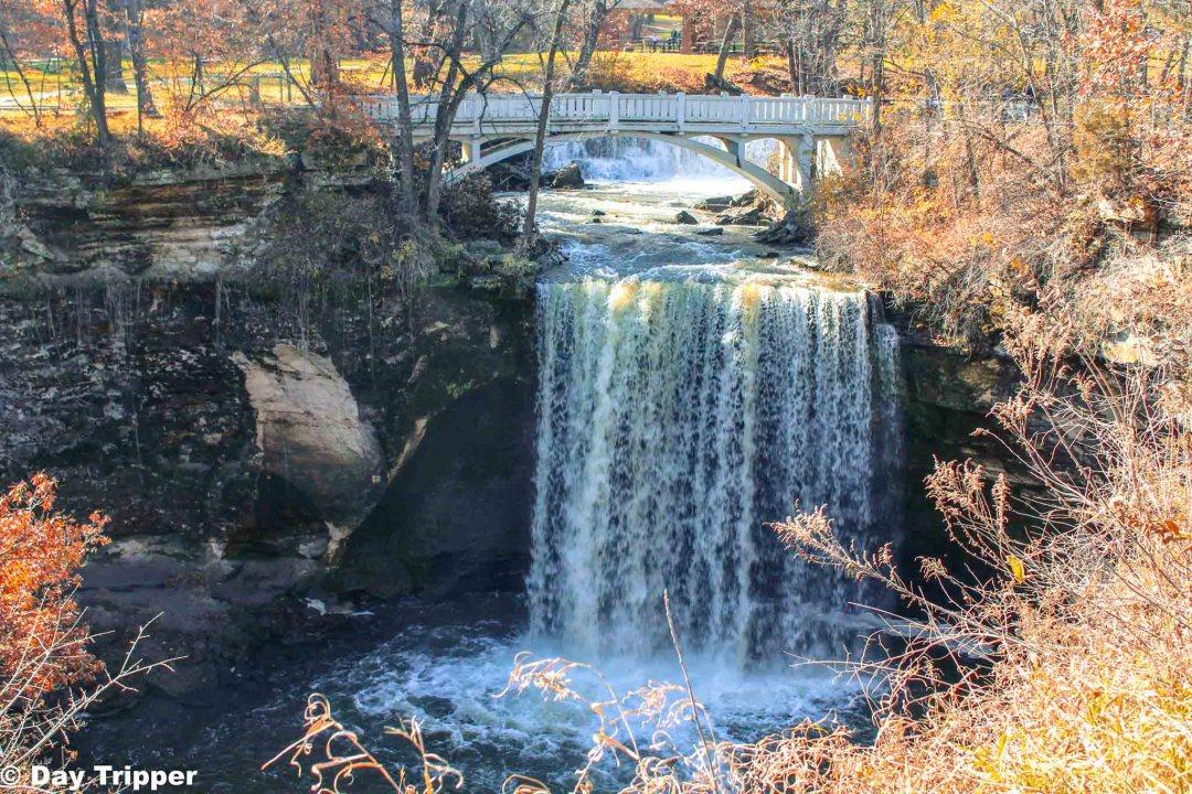 Minneopa Falls in Autumn