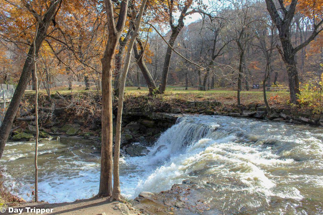 The upper falls, Minneopa State Park