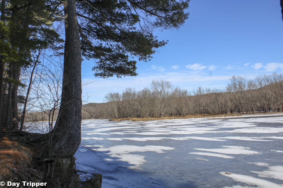 Icy Lake at William O'Brien State Park