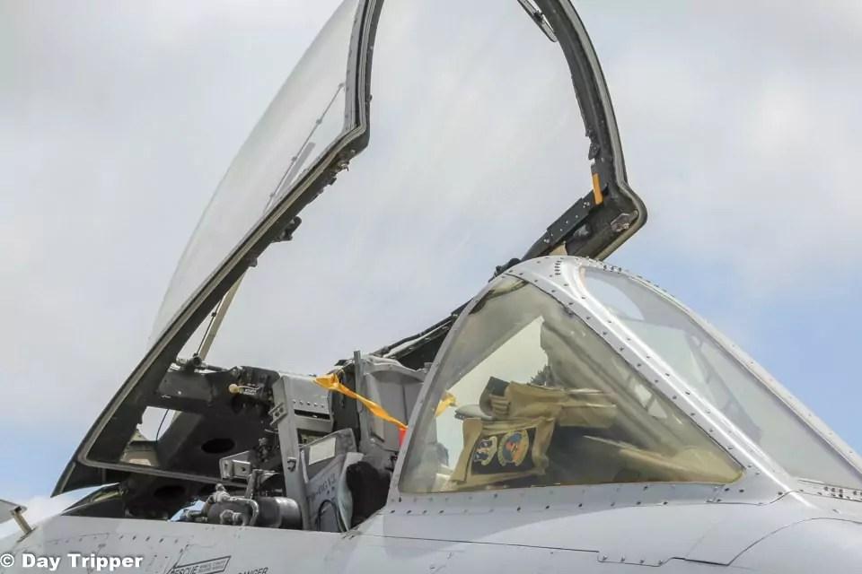 Cockpit of an aircraft