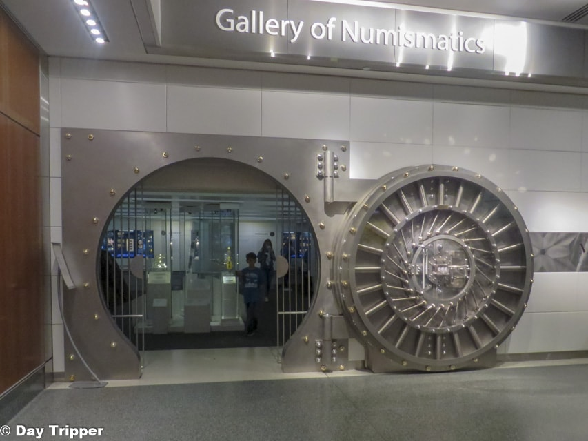 The Vault inside the American History Museum